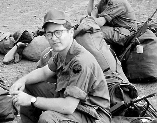 Robert McGowan in Vietnam, 1969