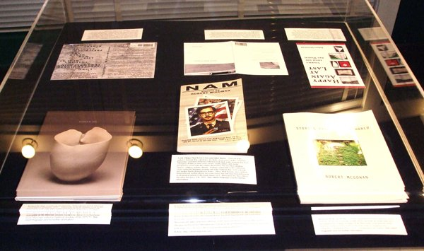 Part of Robert McGowan's retrospective show on South Main.