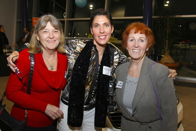 Rita Cavallaro, Jennifer Harrison, and Sue Harrieson