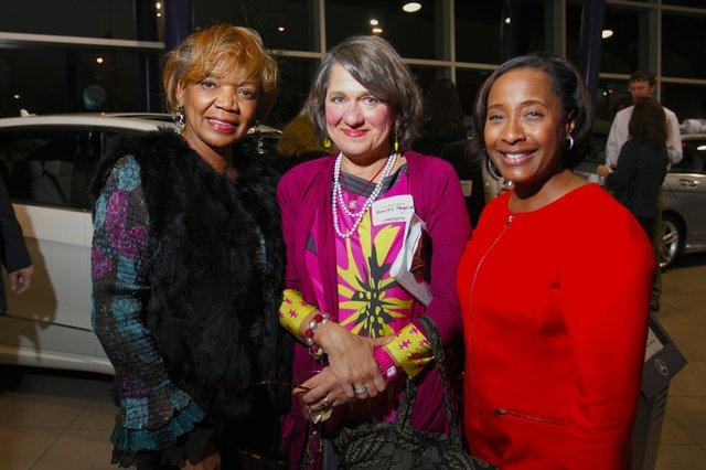 BJ Worthy, Joy Bateman, and Jopie Merriweather