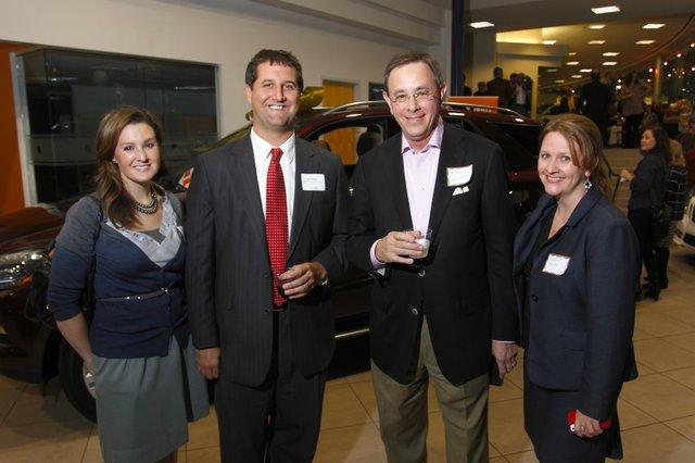 Ashley Smith, Ed Wallis, Richard Glassman, and Valerie Smith
