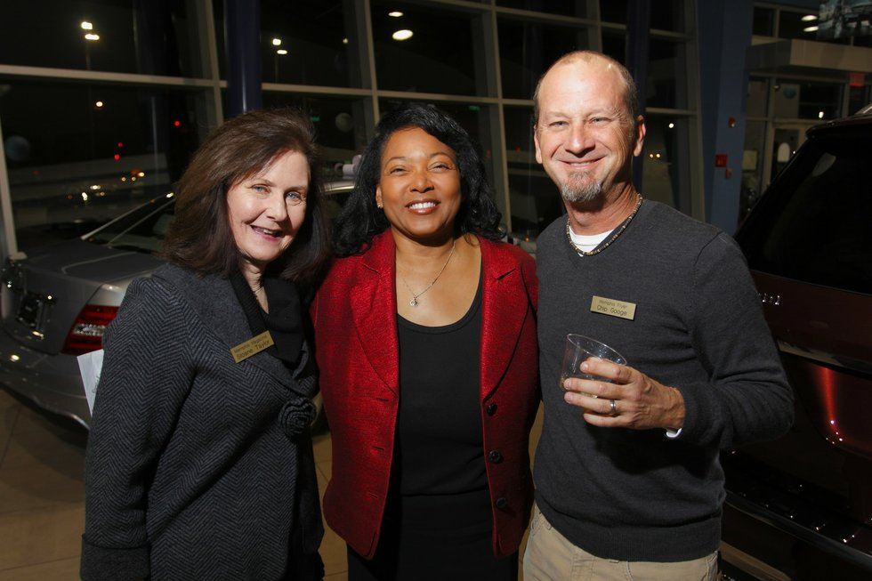 the 2012 super lawyers issue release reception memphis magazine sloane taylor sheila champlin and chip googe