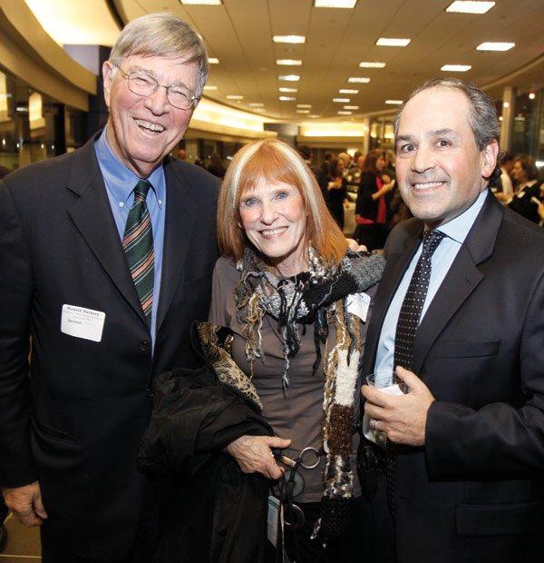 Ronald & Iris Harkavy, Jeffrey Goldberg