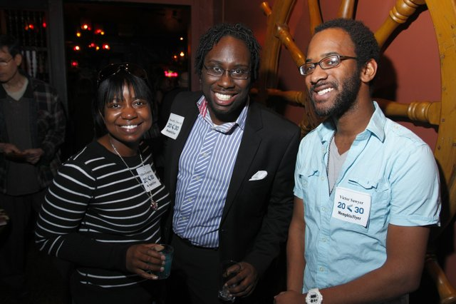 Tiffany Langston, Marvel L. Terry III, and Victor Sawyer