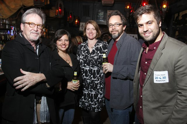 Bruce VanWyngarden, Kristy Alley, Melissa Wolowicz, Richard Alley, and Frankie Dakin