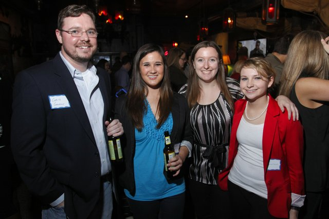 Chris Connolly, Katherine Newsom, Brandy Sims, and Emma Leatherland