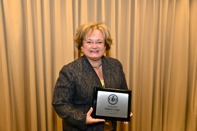 MBQ CEO of the Year Winner in the 1 - 50 employees category, Daphne Large of Data Facts, Inc.