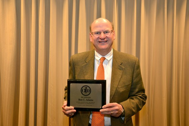 MBQ CEO of the Year Winner in the 200 - 1,000 employees category, Ben C. Adams of Baker, Donelson, Bearman, Caldwell & Berkowitz.