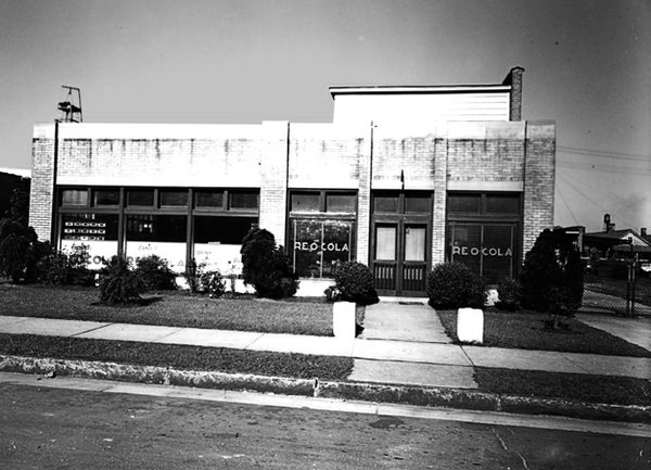 Though much altered by time, the old Re-O-Cola building is still standing on South Third.