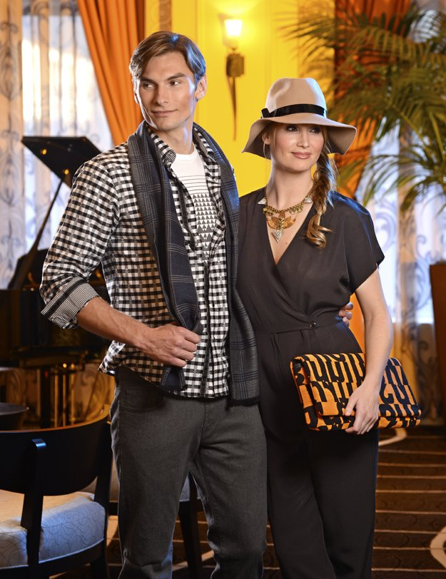 Elly's clutch is featured in the December '12 issue of Memphis Magazine. She creates her bags from mid-century fabrics that are steeped in architectural history.