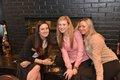 Ashley Haeger, Bethany Lusk, and Amy Modlin Duff