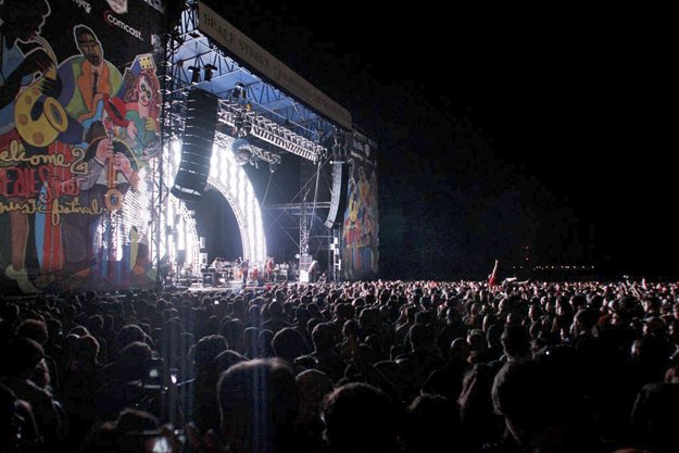 MGMT performs at BSMF in 2011.