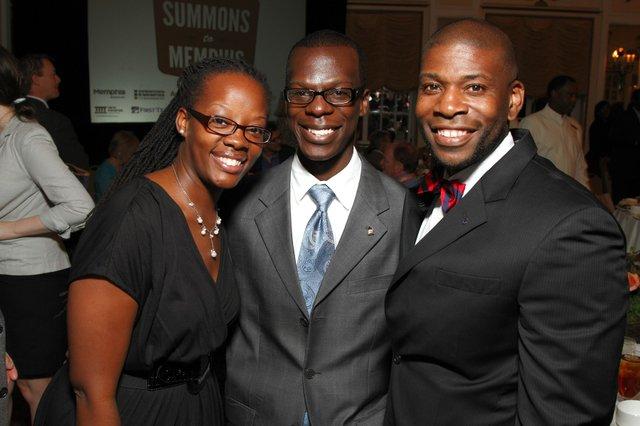 Sameka Johnson, Marcus Anthony, and Ekundayo Bandele
