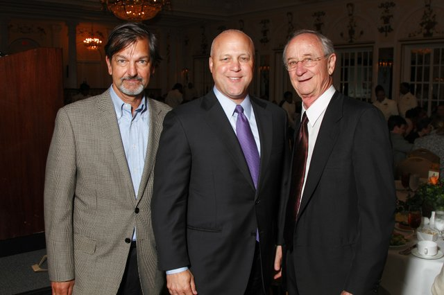 Rick Masson, New Orleans Mayor Mitch Landrieu, and Henry Turley