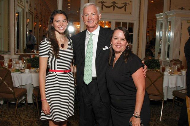Mary Carson, Johnny Pitts, and Beth Flanagan