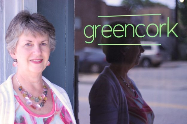 Robin Brown hopes to open Greencork in August, depending on the timing of licensing permits.