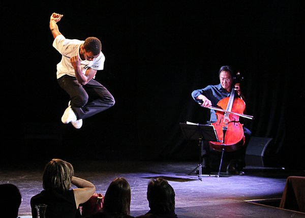 In April, Lil Buck (aka Charles Riley) performed with Yo-Yo Ma before a capacity crowd at the New York City Center.