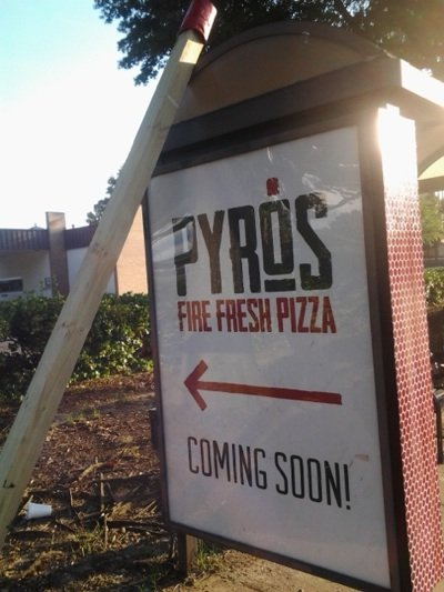 The owners of Pyro's Fire Fresh Pizza are hoping for a September opening for their first restaurant.