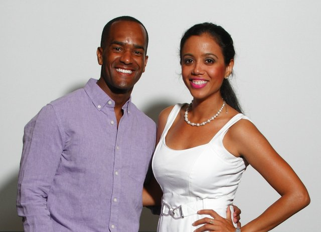 ABC 24's Rodney Dunigan and Jackie Orozco stopped by to get their picture taken at the 6/27 casting call.