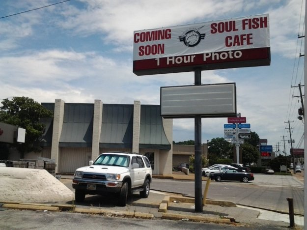 Soul Fish Cafe, located in the former Wolf Camera, will be a new neighbor for Sekisui Pacific Rim on Poplar Avenue.