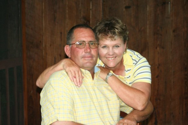 A funeral for Mark Newman, pictured above with his wife, Rita, is planned for Sunday.