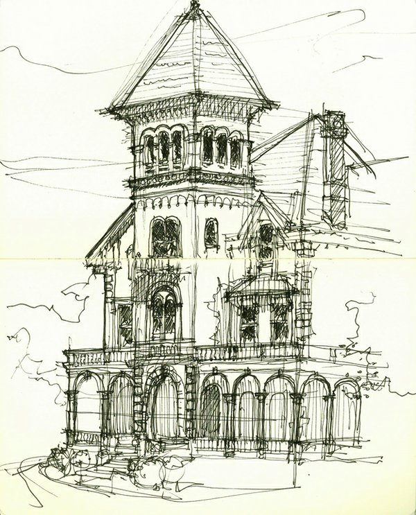 illustration by Joseph P. Wieronski | memphis urban sketchers