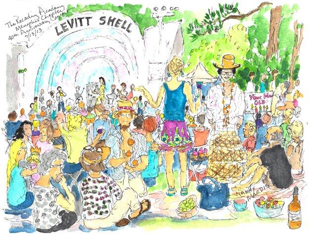 Levitt Shell in Overton Park