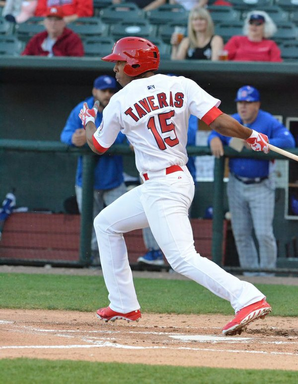 Rising star Oscar Taveras showcased a big-league stroke —  and battled an ankle injury — with the 2013 Redbirds.