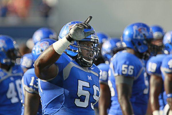 Johnnie Farms and the Memphis Tiger football team  begin play in the new American Athletic Conference.