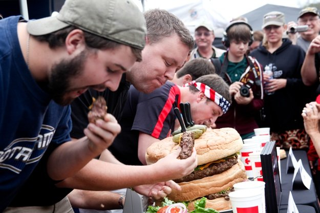 Eating contests, competitive cook-offs, corn hole for the kids and lots of America's favorite food highlight the Best Memphis Burger Fest Sunday at Minglewood Hall.