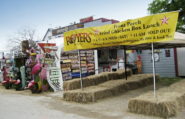Round Top offers many places to eat, dance to live music, and just have fun, such as Royers Cafe and the Bubble Lounge.