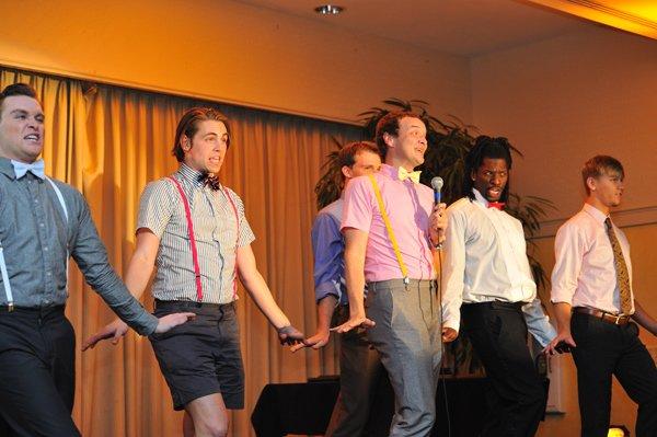 Cast of La Cage Aux Folles at Theatre Memphis