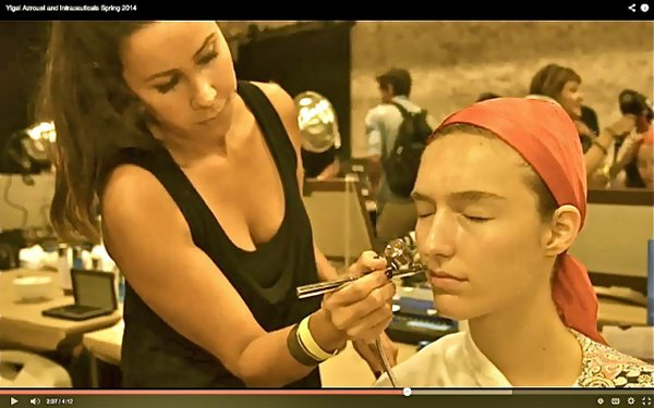 Brandi treating Yigal model.jpg