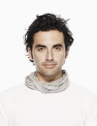 The gorgeous NYC based fashion designer, Yigal Azrouel. Photo from web.