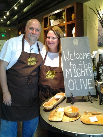 Sam and Carol Braslow recently opened The Mighty Olive in the Laurelwood Collection in East Memphis.