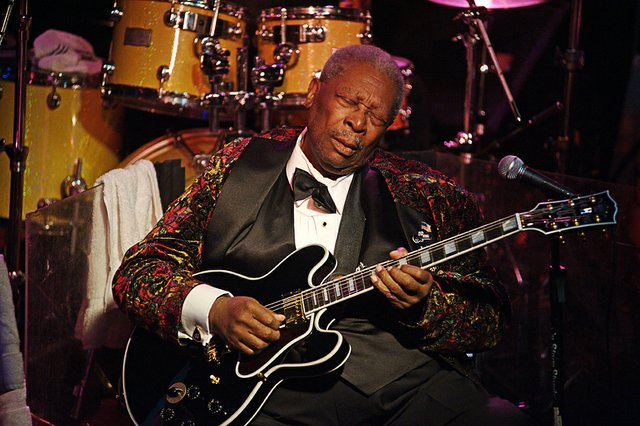 #1 - Try to catch B.B. King on stage