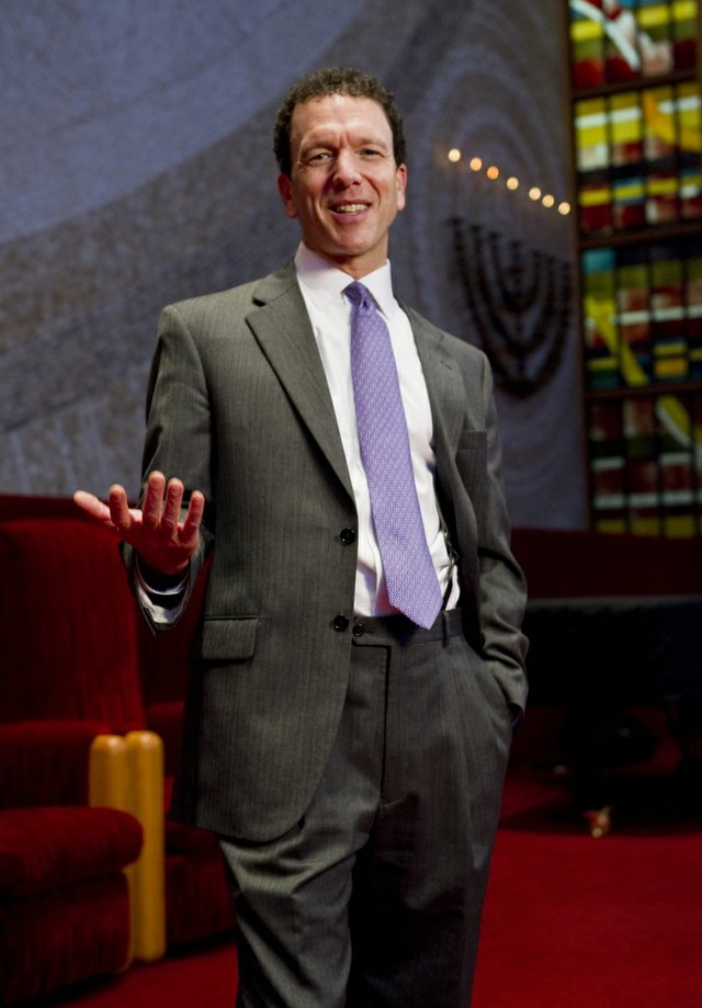 Senior rabbi of Temple Israel since 2000, Micah Greenstein brings passion and energy not only to his congregation but to the city as a whole.