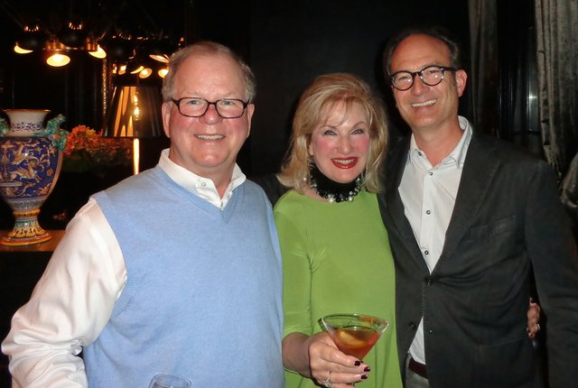 Don and Elizabeth Scott with Greg Campbell