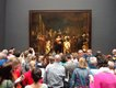 Rembrandt's Night Watch is the most famous painting in the fully reopened Rijksmuseum