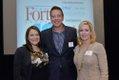 Elizabeth Slade, Niklas Rytterstrom (Honoree) of Gold Strike Casino Resorts, and Tina O'Keefe