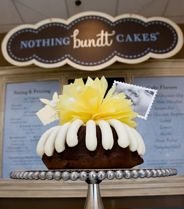 Amy and Chris Lupo, pictured below, are offering bundt cakes baked fresh daily in 10 different flavors at their new shop in East Memphis.
