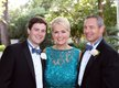 The groom with his parents Paige and Larry Weber III.