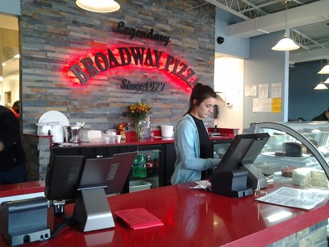 Limited parking near a busy intersection isn't slowing down business at the new Broadway Pizza in East Memphis, open since January 22.