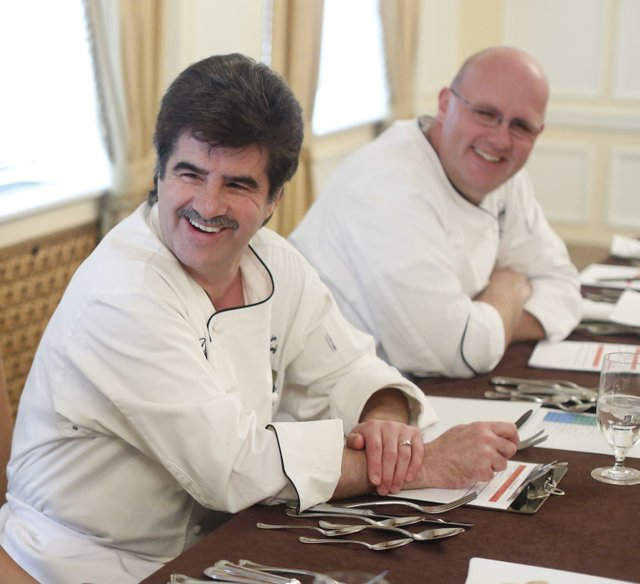 Peabody Executive Chef Andreas Kisler and Executive Pastry Chef Konrad Spitzbart serve as judges and offer expert advice.