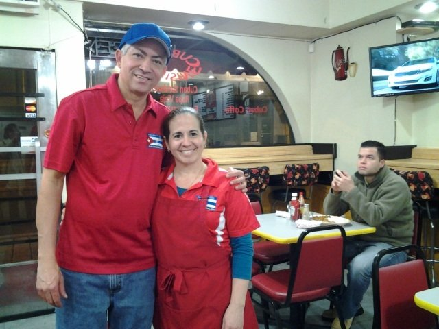 Pedro Pena and Marialys Gonzalez serve an authentic (and delicious) menu of Cuban food seven days a week at Havana's Pilon on Madison Avenue.