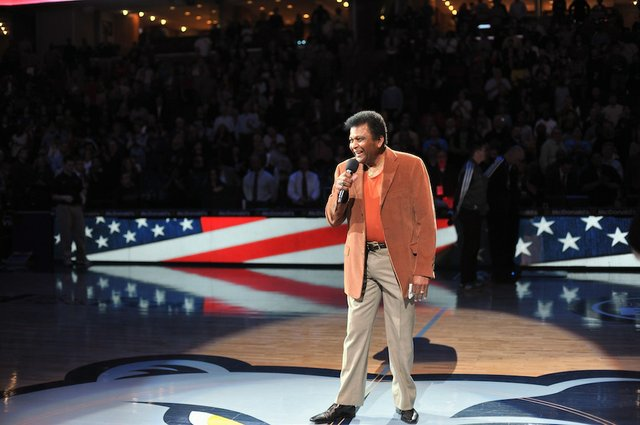 The great Charley Pride entertains.