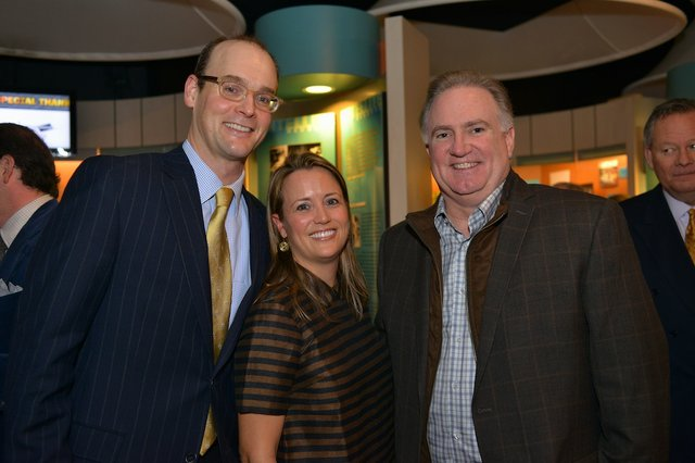 Andy and Allison Cates, Sean Tuohy
