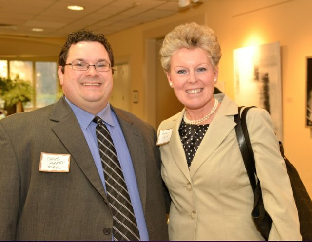 Greg Akers and Barbara Daush