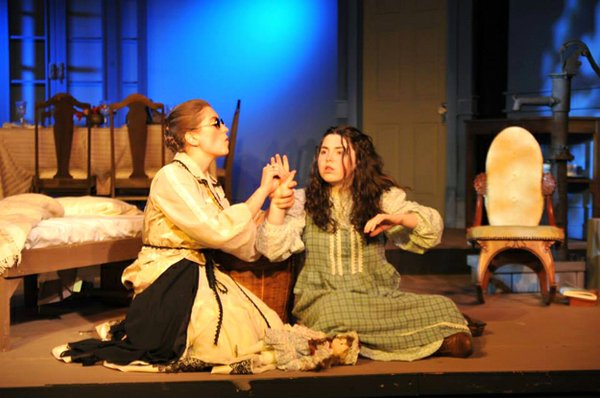 Sydney Bell as Helen Keller in The Miracle Worker