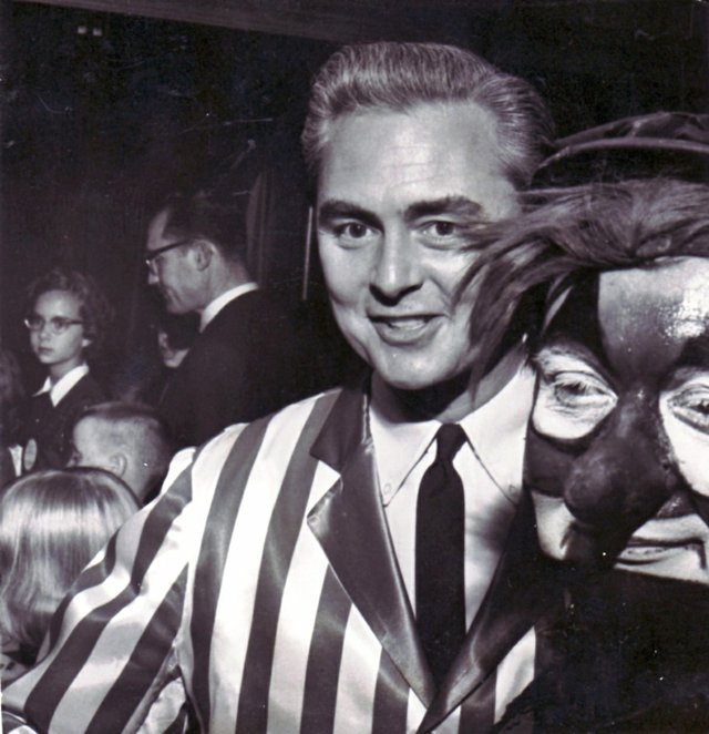 Trent Wood and Tiny in 1961